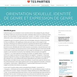 Orientation sexuelle, identité de genre et expression de genre - Sexual and Reproductive Health Awareness Week