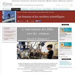 La faible orientation des filles vers les carrières scientifiques / Focus