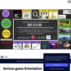 Serious game Orientation by CPE-IAN-WEBMESTRE-TrAam on Genial.ly
