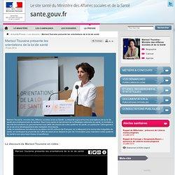Marisol Touraine présente les orientations de la loi de santé