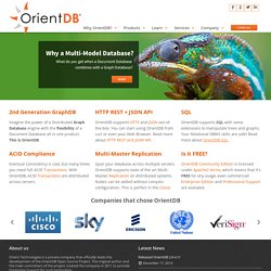 Orient Technologies - Open source solutions built around the Orient DB