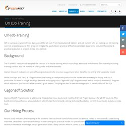Job Guaranteed Training Programs in Bangalore