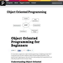 Object Oriented Programming for Beginners