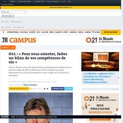 Xavier Pommereau: «Faites un bilan de vos compétences de vie»