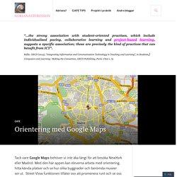 Orientering med Google Maps