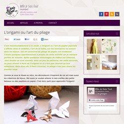 Faire des bijoux en origami - L'art du pliage pour des boucles d'oreilles