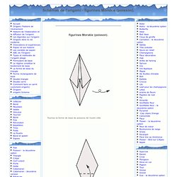 Origami - Origami Diagrammes - figurines Morskie (poisson)