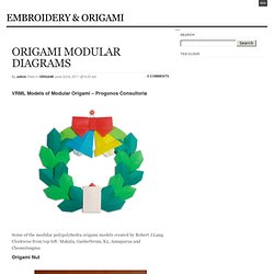 ORIGAMI MODULAR DIAGRAMS « EMBROIDERY & ORIGAMI