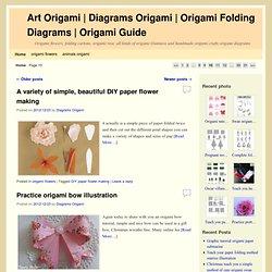 Origami Folding Diagrams