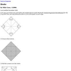 Origami Drake