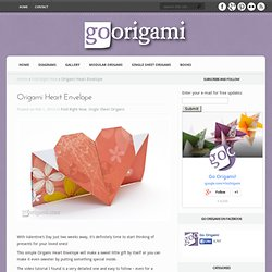 Origami Heart Envelope by Eric Strand