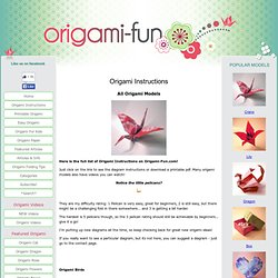 Origami instructions - Origami grenouille sauteuse pdf ...
