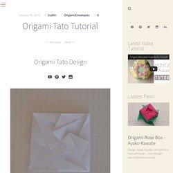 Origami Tato Tutorial – Origami Tutorials