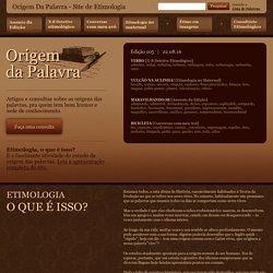 Site de Etimologia