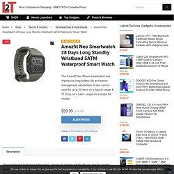 Buy Original Amazfit Neo Smartwatch