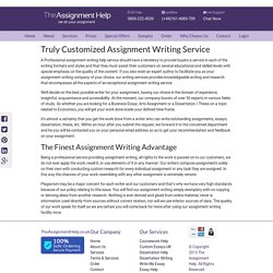 Original UK Assignment writing Services