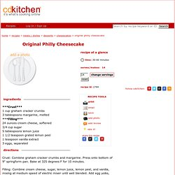 Cheesecake Crockpot Recipe #57735 from CDKitchen