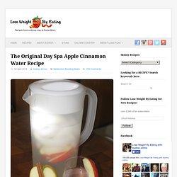 Day Spa Apple Cinnamon Water- 0 calories