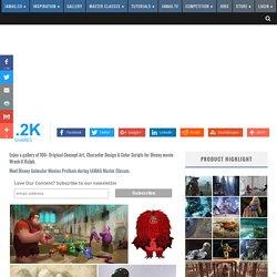 Wreck-It Ralph: 100 Original Concept Art Collection - Daily Art, Movie Art