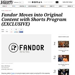 Fandor Moves into Original Content with Shorts Program (EXCLUSIVE)