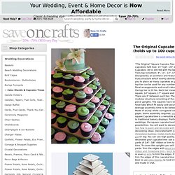 The Original Cupcake Tree Square ( up to 100 cupcakes) $29