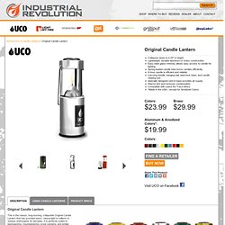 Industrial Revolution - Original Candle Lantern