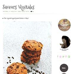 ► The original (vegan) peanut butter cookies !
