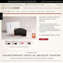 Original Virtual Reality Cardboard Pop-Up Viewer