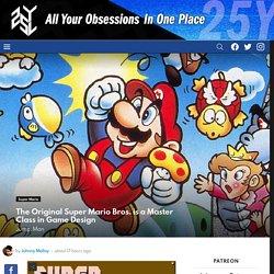The Original Super Mario Bros. is a Master Class in Game Design