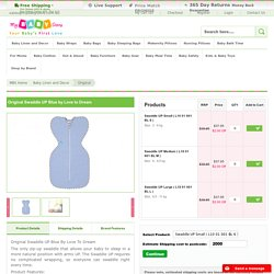 Original Swaddle UP Blue from Love To Dream