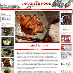 Original Teriyaki - The Japanese Food Report