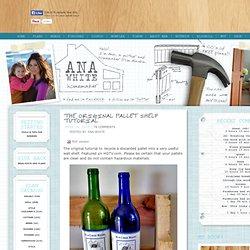 Build A Pallet Shelf Tutorial