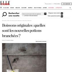 Boisson originale : nos idées de boissons originales qui changent