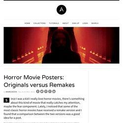 Horror Movie Posters: Originals versus Remakes