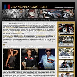 Grand Prix Originals > Steve McQueen Collection, Le Mans, Gulf ...