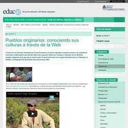 Pueblos originarios: conociendo sus culturas a través de la Web