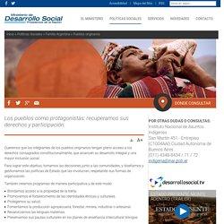 Pueblos originarios - Ministerio de Desarrollo Social
