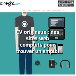 CV originaux : des sites web complets pour trouver un emploi
