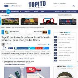 Top 50 cadeaux originaux et insolites de Saint-Valentin pour femme