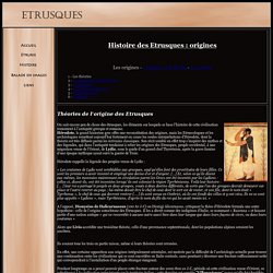 Origine des Etrusques