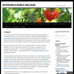 INCREDIBLE EDIBLE BELGIUM