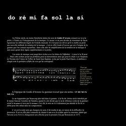 Origine du nom des notes de musique.url