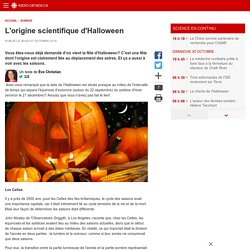 L'origine scientifique d'Halloween
