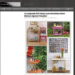 12 originelle DIY Ideen zum Einrichten Ihrer kleinen eigenen Hausbar