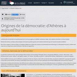 Origines de la démocratie: d'Athènes à aujourd'hui - Par ici la démocratie