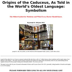 Origins of the Caduceus