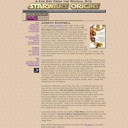 Star Wars Origins - Joseph Campbell and the Hero's Journey