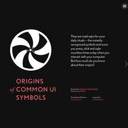 Origins of Common UI Symbols