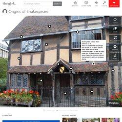 Origins of Shakespeare