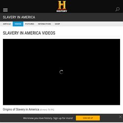 Origins of Slavery in America Video - Slavery in America